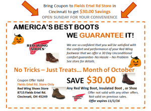 photo relating to Red Wing Boots Coupon Printable identify Uc_coupon : Horror evening discount codes 2018