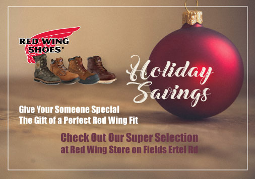 December Red Wing Coupon