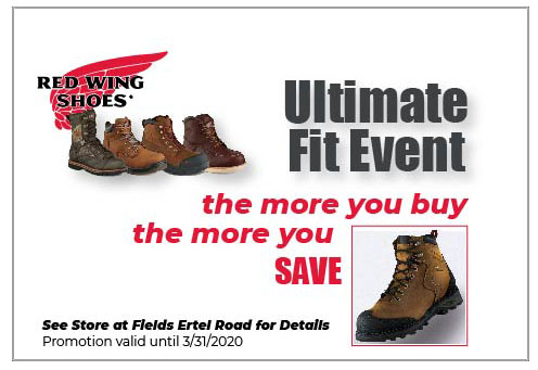 March Coupon Red Wing