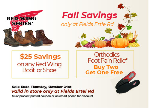 Redwing Boots October Coupon