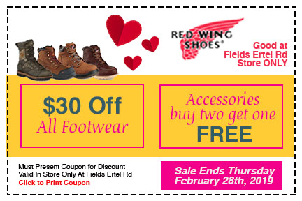 Redwing Coupon